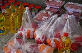 توزیع بسته های حمایتی به مناسبت ماه مبارک رمضان و شب های قدر